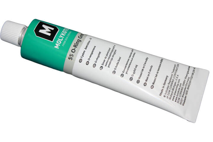 SILICONE BASED LUBRICANT FOR O-RINGS
